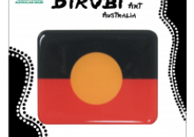 Aboriginal flag magnet