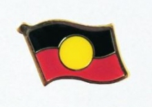 Aboriginal Flag Pin