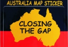 Closing The Gap sticker