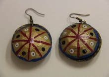 Tangentyere Double Bottle Top Earrings