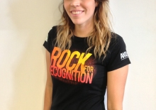 Rock for Recognition tee shirt