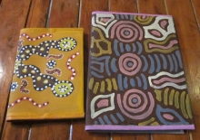Waltja diary covers